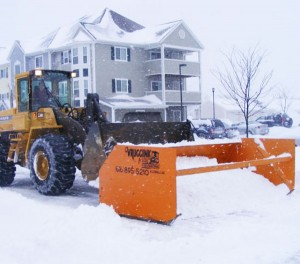 Commercial snowplowing Grand Rapids MI
