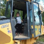 Jake in a dozer!